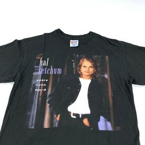 90s Hal Ketchum Every Little Word Tour T-Shirt